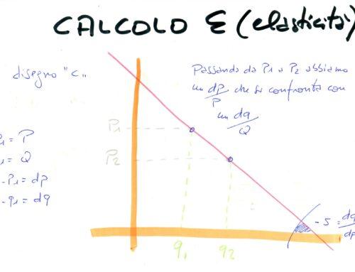 Calcolo della elasticità in micro. Prof Carlini