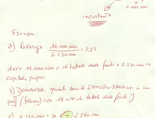 Margine di struttura. Prof Carlini.