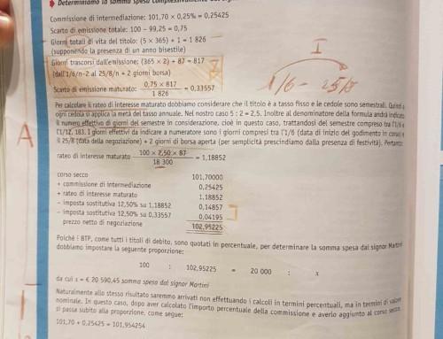 Acquisto di un BTP da parte di un nettista. Prof Carlini