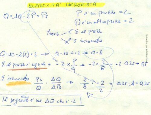 Elasticità per micro altri casi di studio. Prof Carlini