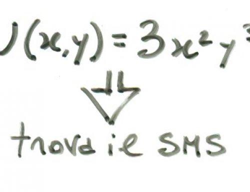 Dalla funzione di utilità al SMS. Prof Carlini