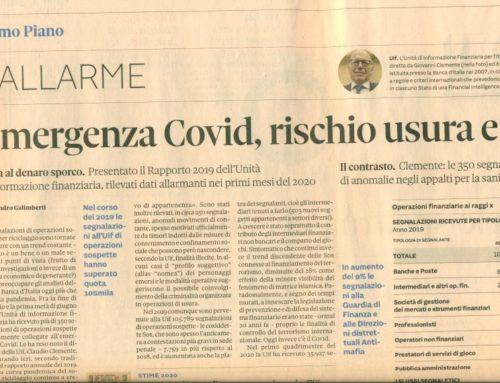Giornalismo immaturo. Prof Carlini studi