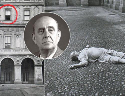 Defenestrazione di Praga alla maniera boema. Prof Carlini