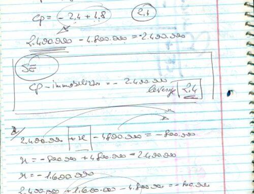Bilancio con dati a scelta2. Prof Carlini es. semplice