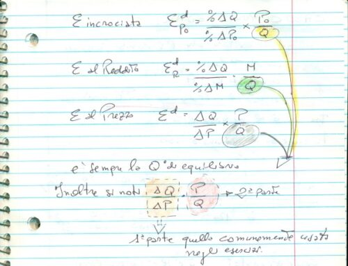 Elasticità di microeconomia esempi vari. Prof Carlini